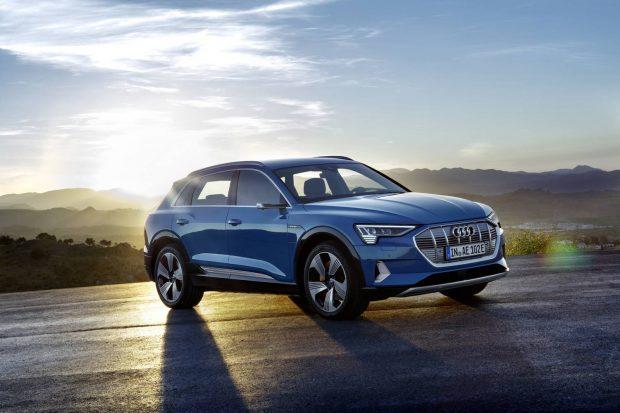 Audi E-tron, voiture électrique la plus sûre du monde